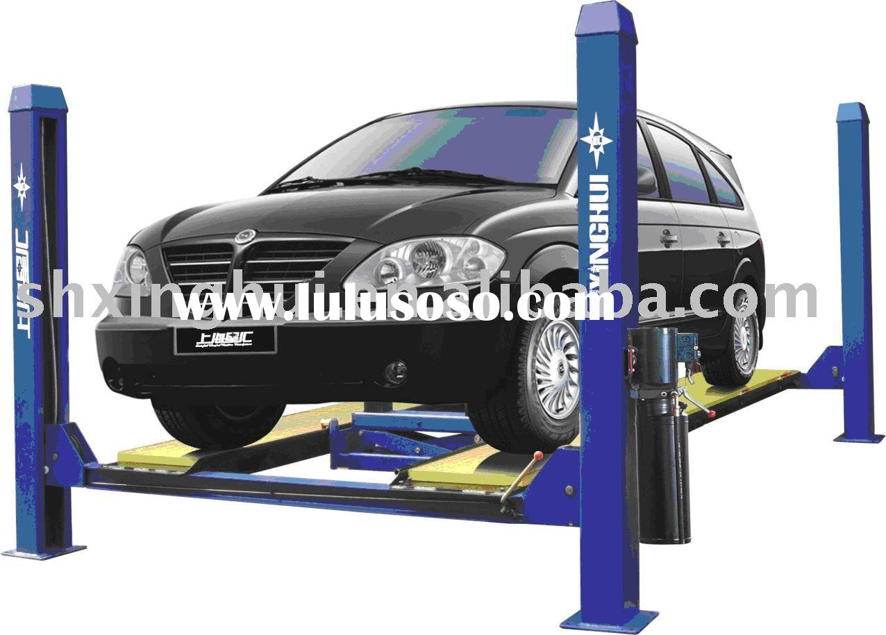 Car lift, Four Post Lift, garage equipment 4QJY-3500B (CE)