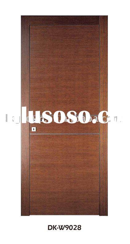 Classical design interior wood door