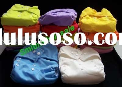 Cloth Diapers diaper Nappy pocket diaper covers with Insert