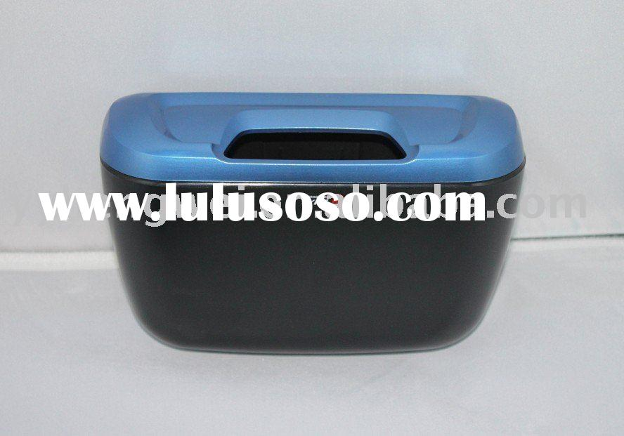Dual-use DOOR Car trash bin storage bins
