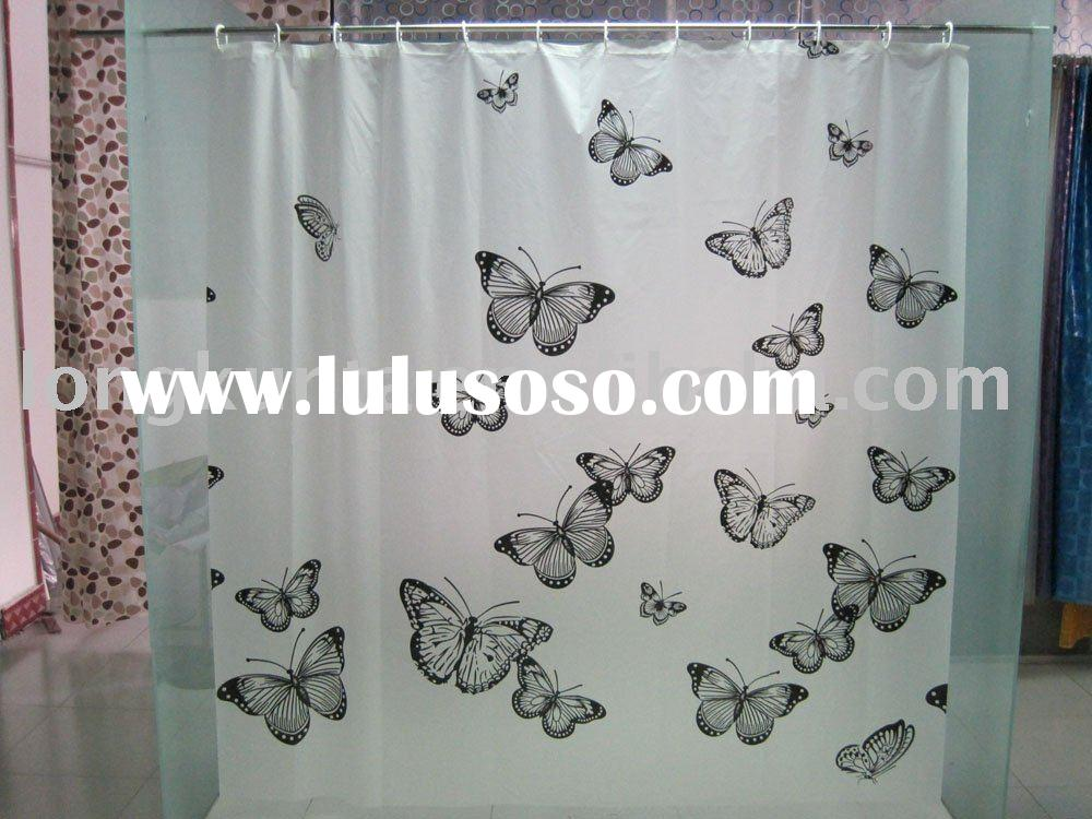 Eco-friendly shower curtains