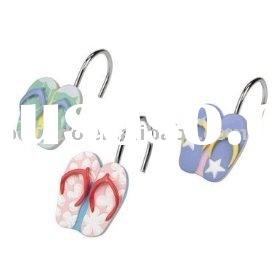 Poly Shower curtain Hooks, shoe hooks, bathroom accessories