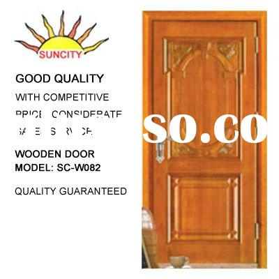 Wooden Front Doors | Solid Hard Wood Door | Hardwood Front Doors