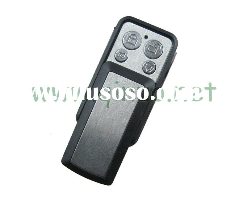Wireless remote control for house door opener