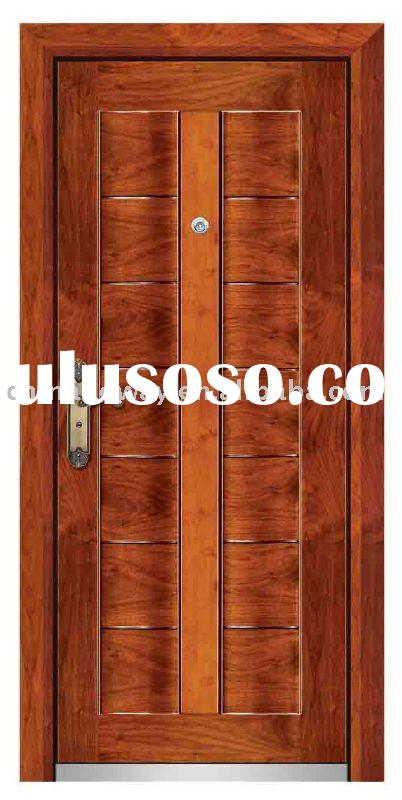 (luxurious design) Steel&wood Armored Door