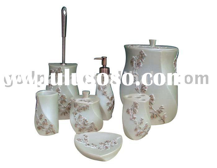 elegant bathroom set