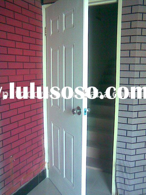 exterior metal steel door,Interior Steel panel door,exterior door with galvanized steel door frame