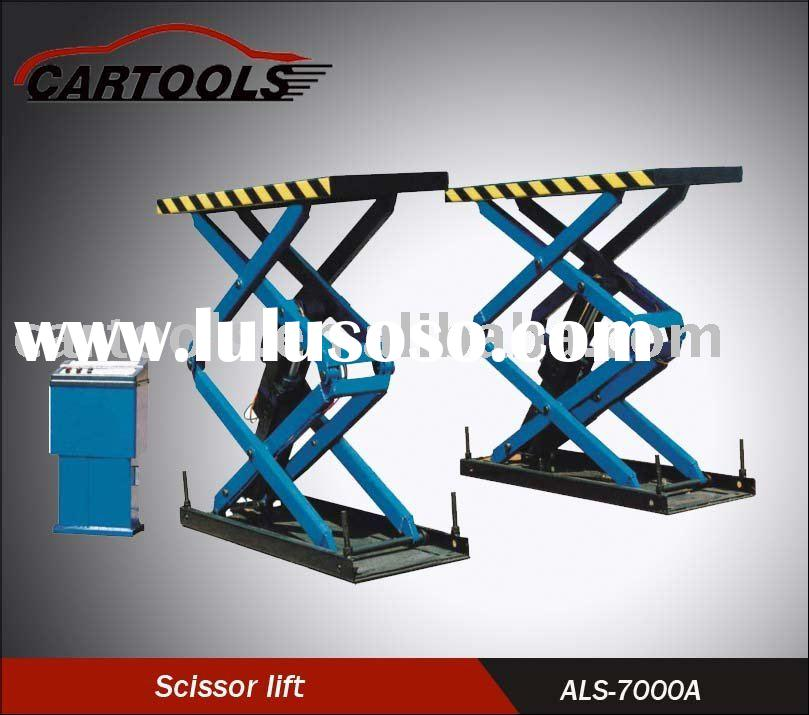 garage lift,scissor auto hoist,scissor car lift --CE
