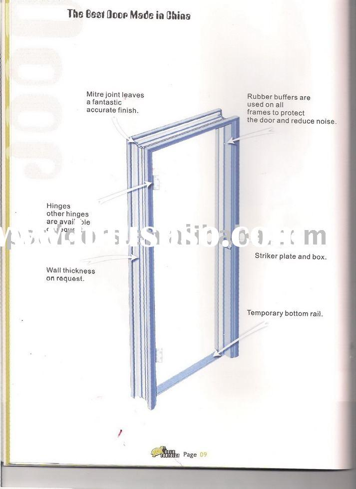 Doors Jambs: Aluminum Door: Aluminum Door Frame Jamb Detail