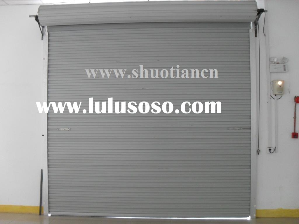 Roll up garage door screens roll up garage door screens for Roll up screen door for garage