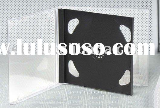 10.4mm Jewel CD Case double with black tray