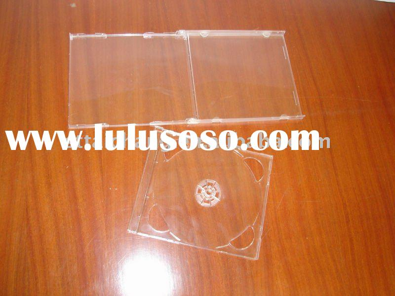 10.4mm jewel clear CD case