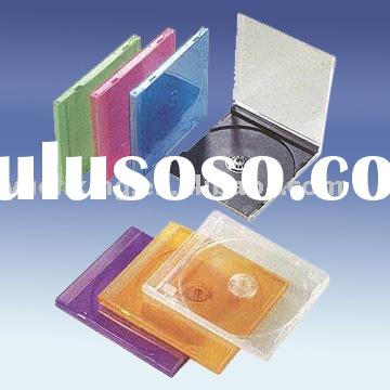 10mm CD Jewel Case,cd cover with color tray