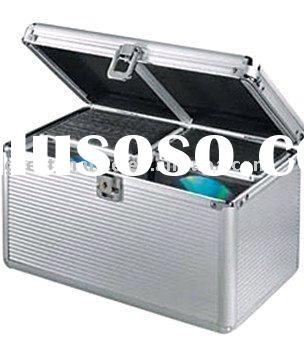 Aluminum 200 CD DVD R Media Storage Case Holder for DJ