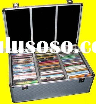 Aluminum 420 CD-R DVD Storage Case