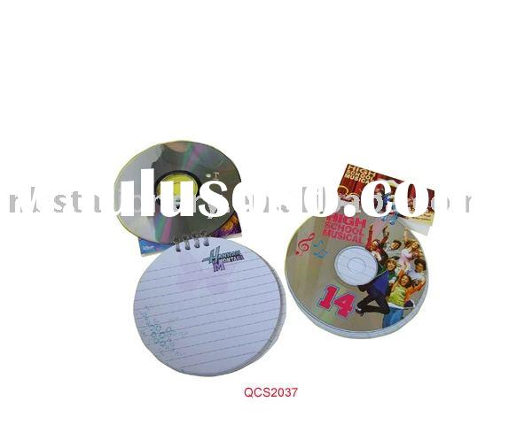 CD cover Spiral Notebook
