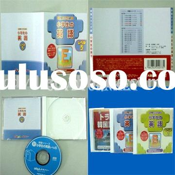 CD replication with cd jewel case Packaging
