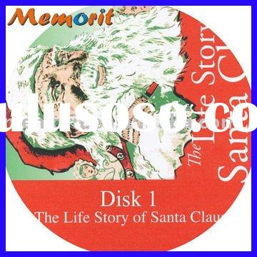 Christmas CD kits with double CD Jewel case packing