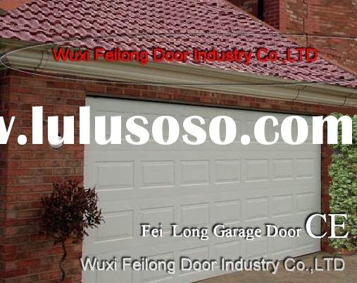 Garage Door  White Color--- Sectional, Overhead, Remote Control & Manually