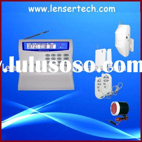 Home security alarm system with wireless door magnetic sensor(LS-GSM-001)