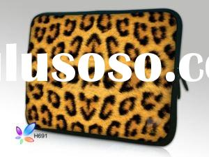 "Leopard 17"" 17.4"" Laptop Bag Case Cover For Macbook Pro"