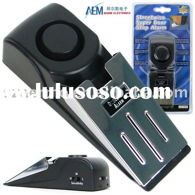 Siren stop alarm,door stopper alarm,door alarm,door blocker