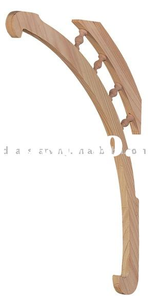 Wood Bar Brackets