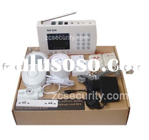 home security alarm system kit with door sensor + pir