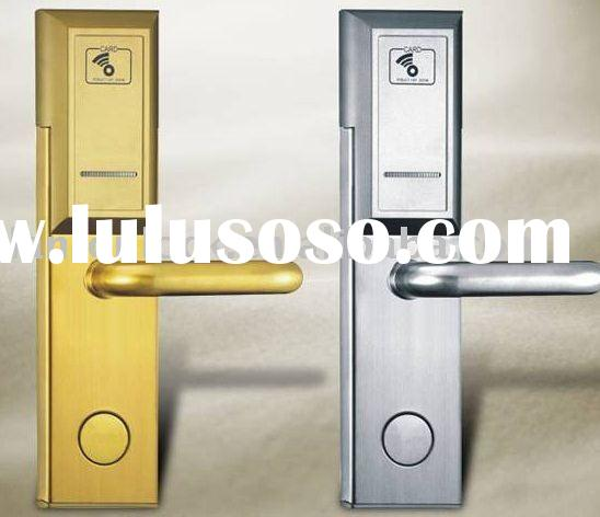 security door lock electronic RF card hotel lock LT810-RF
