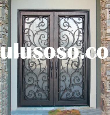 Wrought Iron Front Doors on Wrought Iron Screen Door Protector  Wrought Iron Screen Door Protector
