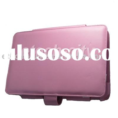 Pink PU Leather Case for Acer Aspire One 8.9""