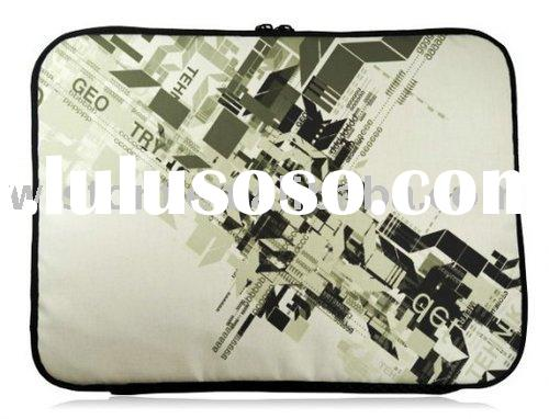 netbook case/computer bag/cool laptop bag/flag neoprene bag