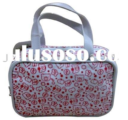 stock makeup bags , cosmetic case , tote hand bags