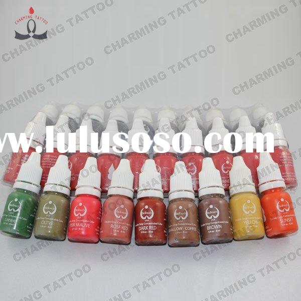 Biotouch tattoo pigment