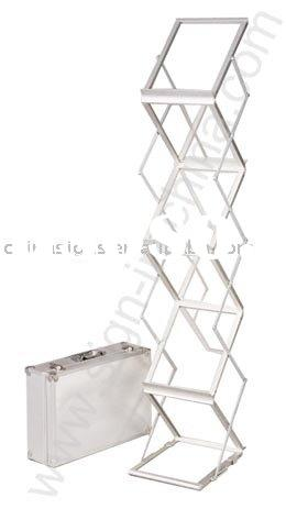 Quick Stand Literature Rack and Brochure Display-6 pockets
