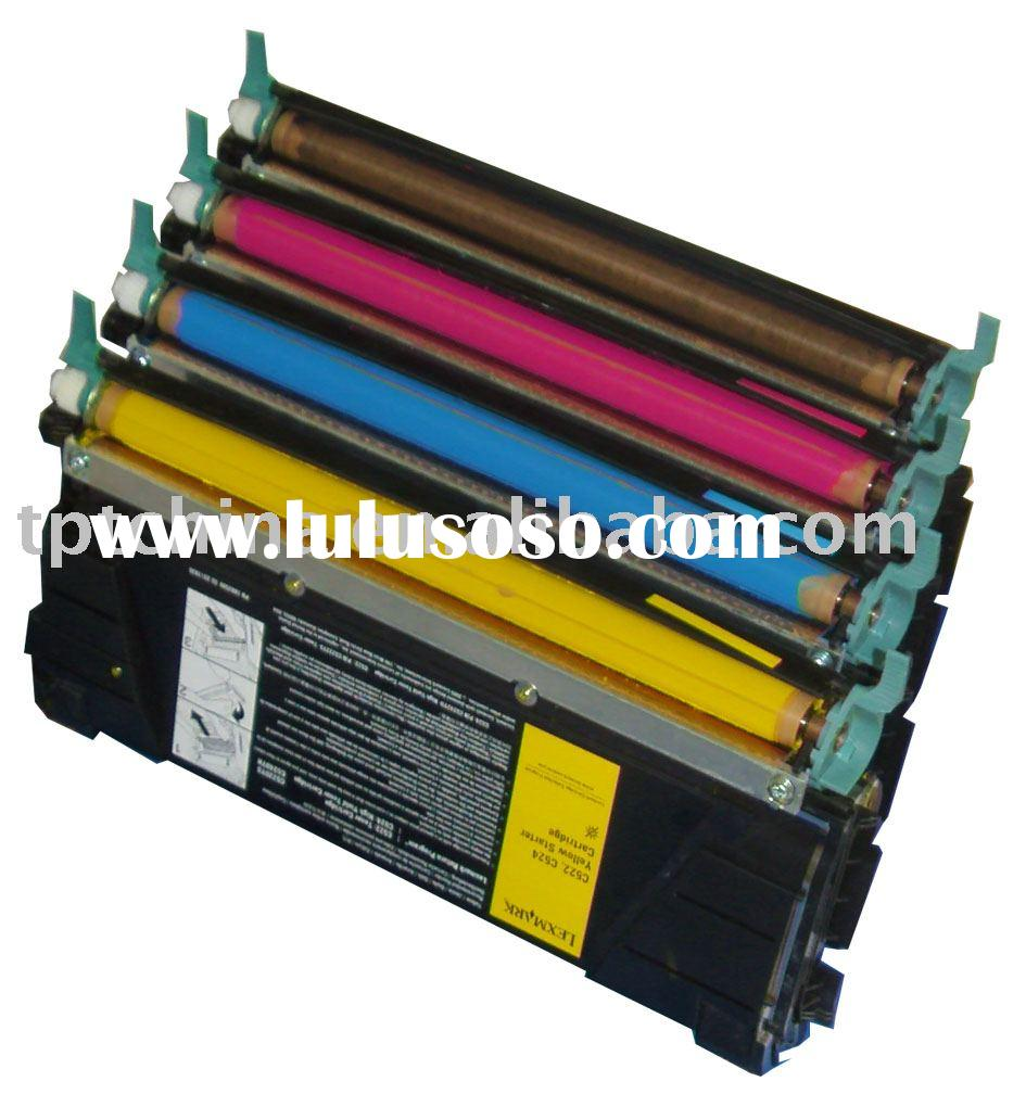 Refill Toner Cartridge for Lexmark C522, C524, C532 printer