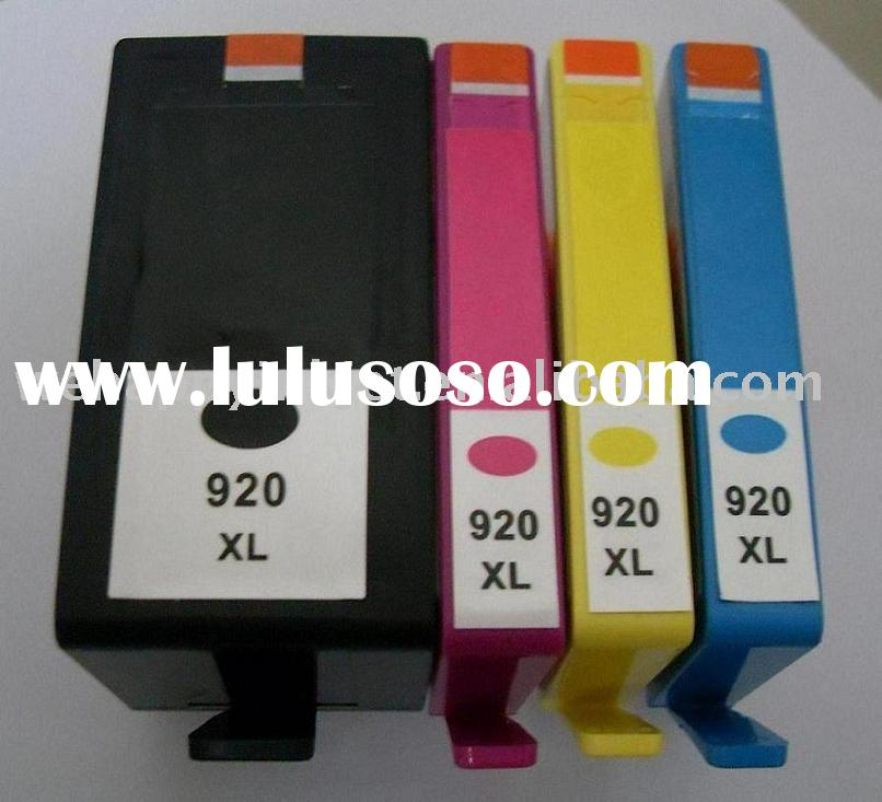 Remanufactured color ink cartridge HP 920 / HP920XL hp printer ink cartridge with chip