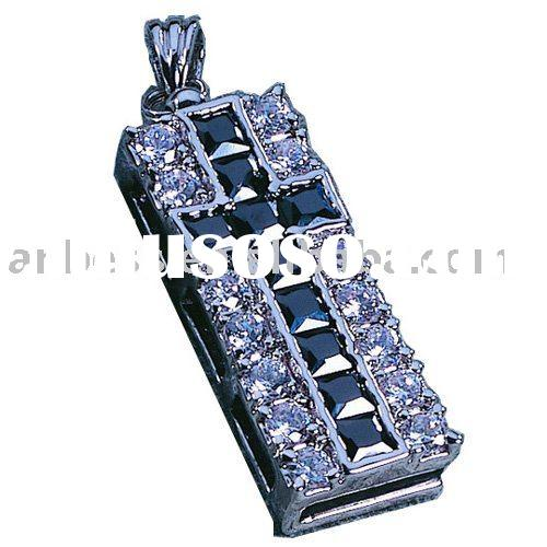 Diamond cross 16GB USB flash drive Flash Memory Thumb Drive Pen Stick jump pen 8GB 4GB 2GB