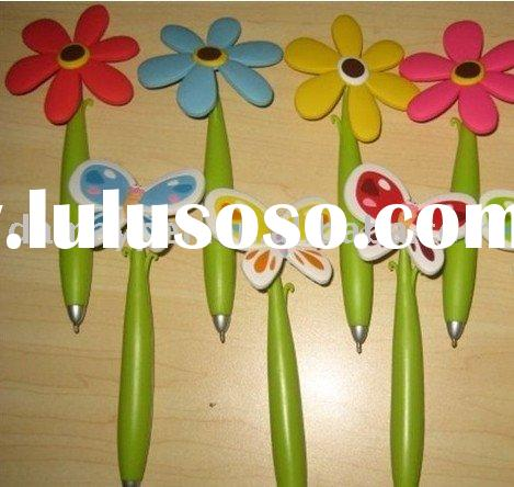Novelty Ballpoint Pen With Flower Shaped