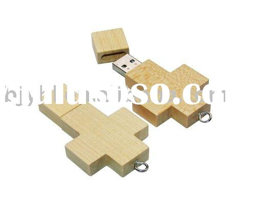OEM Cross Wood USB Flash Pen Drive