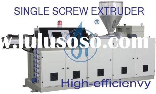 PE plastic film production processing machinery single screw extruder