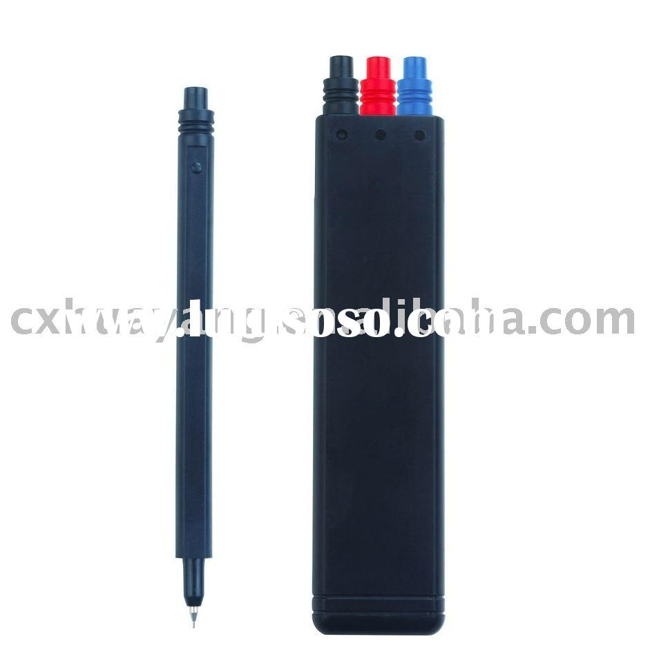 Pen set / 3 pcs a set /ball pen +gel pen+ mechanical pen