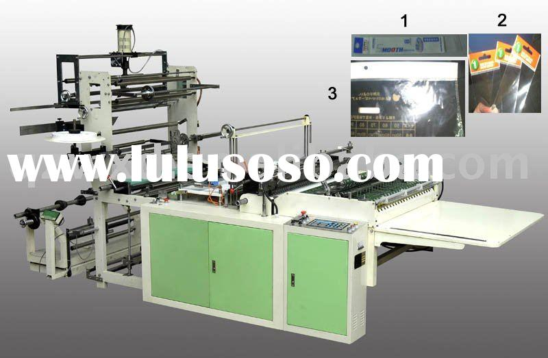 RQD Series Side Seal Plastic Bag Making Machinery (with an Ultrasonic Device)