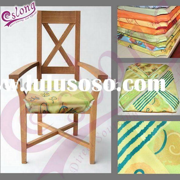 Solid Polyester Dining Room Chair Cover
