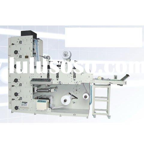 adhesive label printing machine