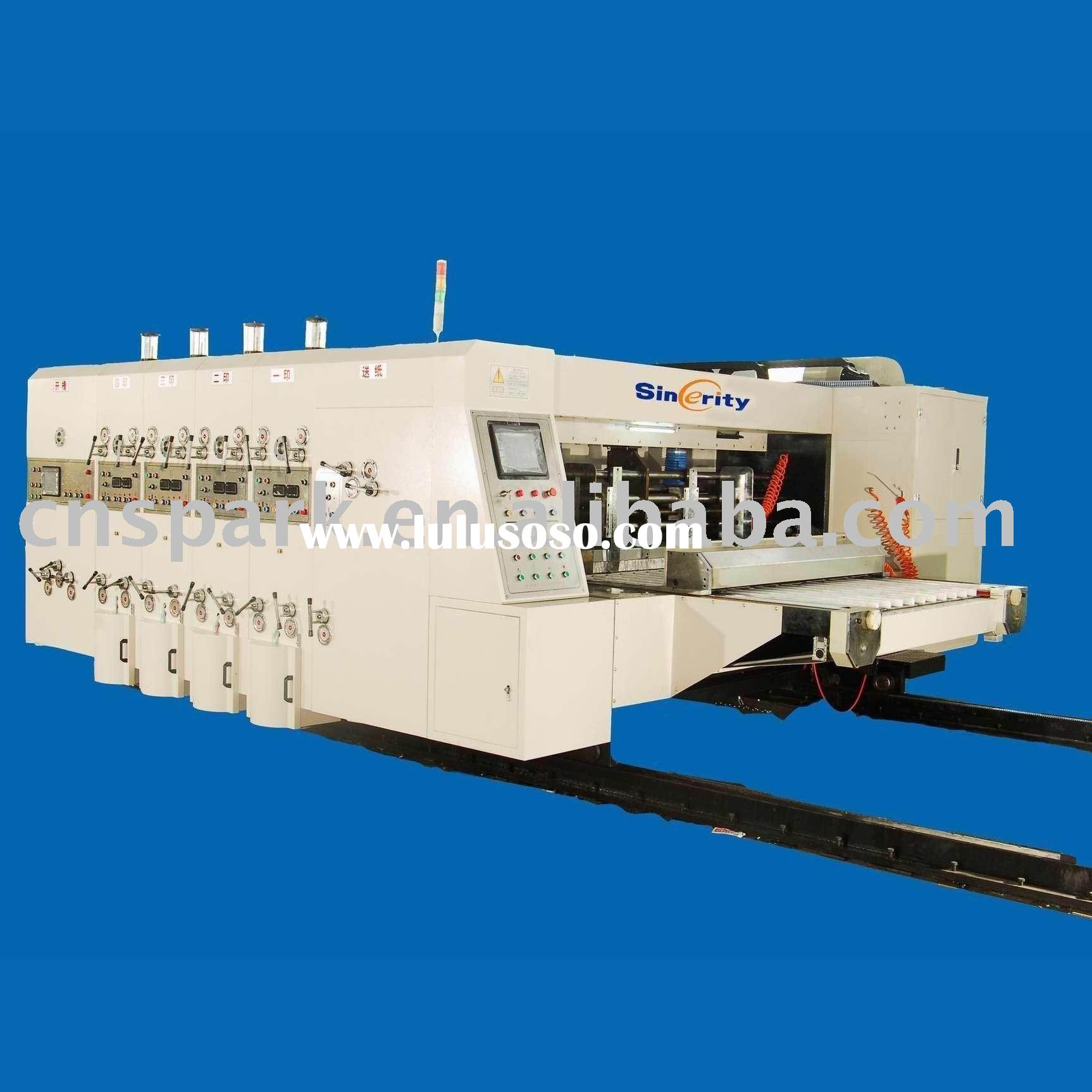 automatic corrugated carton machinery
