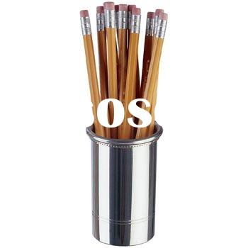 metal pen cup/pencil container/pen holder/pen cup