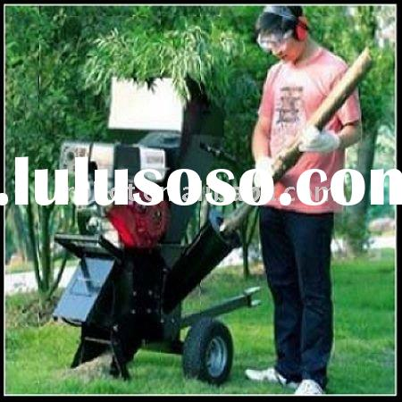 Vacuum manual garden shredder chipper
