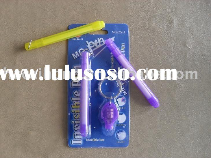 [ Ideal Gift Pen ] Novelty Promotional Invisible UV Pen   CH-6010 ( magic pen )