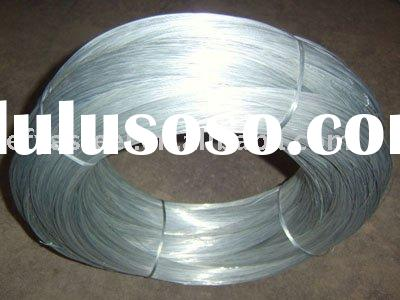 Galvanized wire for armoring cable